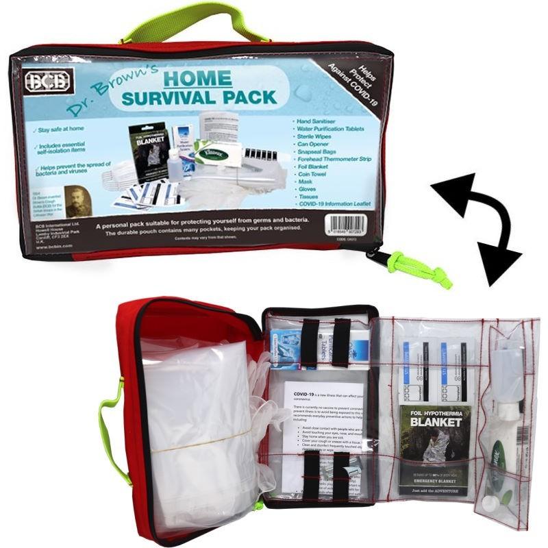 Kit de survie Home Survival Pack BCB