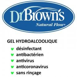 Gel désinfectant 250 ml Dr Browns Hand Sanitizer