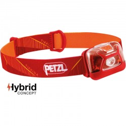 Lampe frontale Petzl Tikkina Hybrid rouge