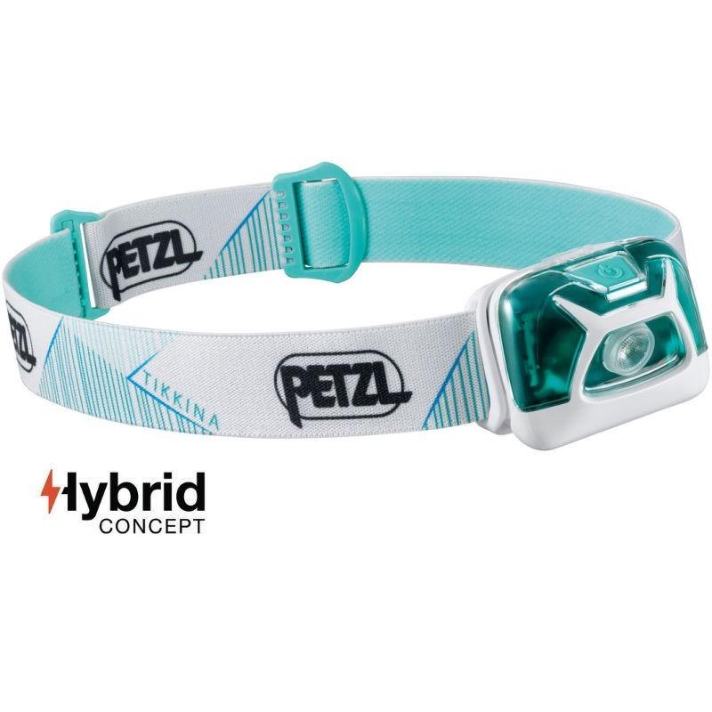 Lampe frontale Petzl Tikkina Hybrid bleue