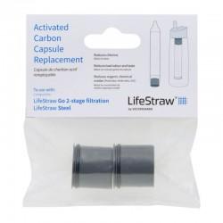 Capsules de charbon pour gourde à filtre Lifestraw Go 2 Stages