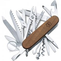Couteau suisse Victorinox Swisschamp bois Wood