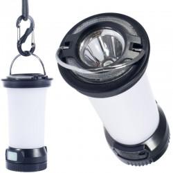 Lampe lanterne rechargeable USB avec mousqueton CAO