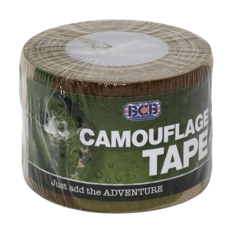 Scotch adhésif en toile BCB Camouflage Tape armée