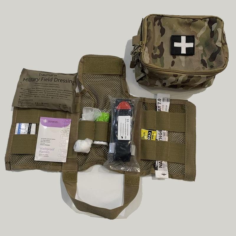 Kit de survie médical armée BCB First Response
