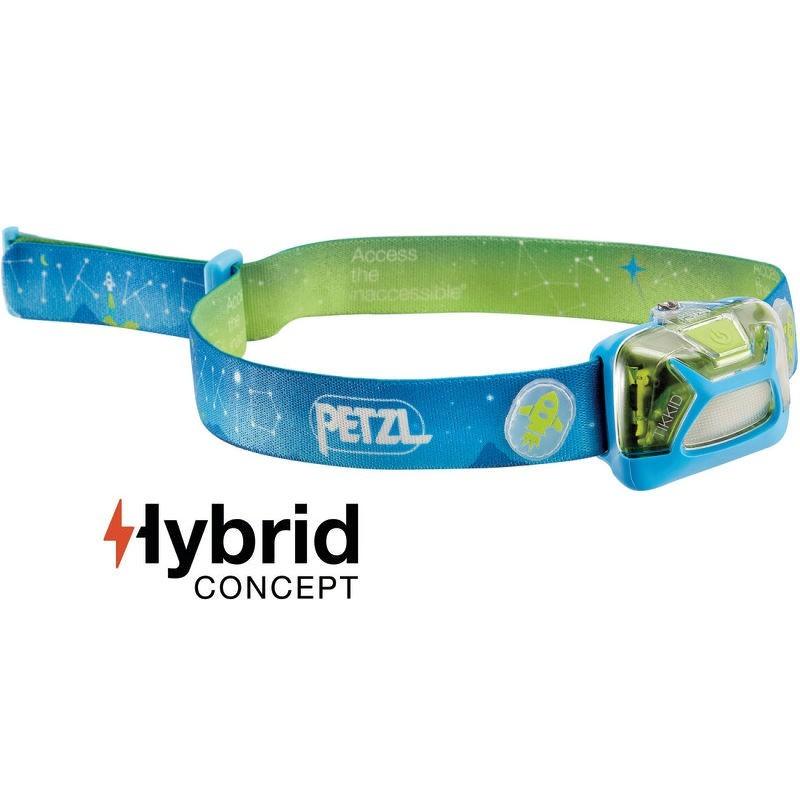 Lampe frontale enfant Petzl Tikkid bleu