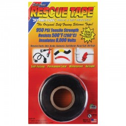 Scotch de réparation Silicone Rescue Tape noir