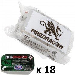 Combustible Fire Dragon en lot de 18 tablettes