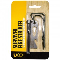 Allume-feu UCO Survival Fire Striker noir