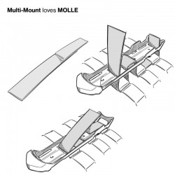 Mora Multi-Mount Kansbol