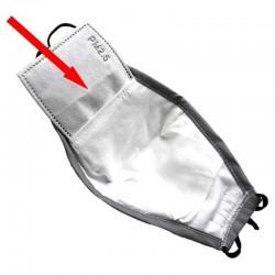 Filtre certifié PM2.5 pour masque en tissu