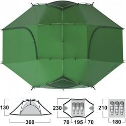 Tente Husky Brofur 3 personnes