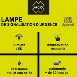 Lampe LED de signalisation d'urgence C-Light ACR