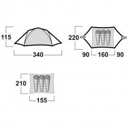 Tente Burton Husky