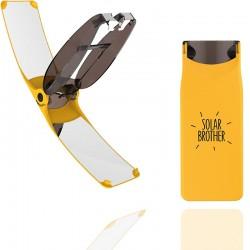 Briquet solaire Solar Brother Suncase jaune