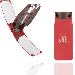 Briquet solaire Solar Brother Suncase rouge