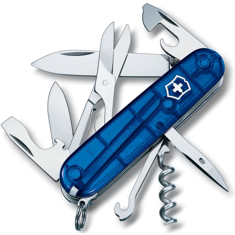 Couteau suisse Victorinox Climber bleu