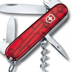 Couteau Victorinox Spartan rouge translucide