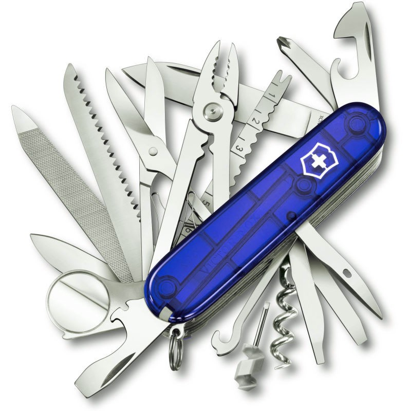 Couteau suisse Victorinox Swisschamp bleu