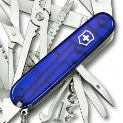 Couteau Victorinox Swisschamp bleu