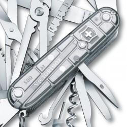 Couteau Victorinox Swisschamp translucide
