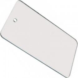 Miroir plastique de signalisation et de camping