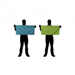 Serviettes microfibres CAO bleues ou vertes