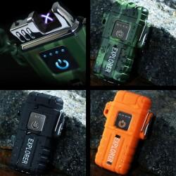Briquet électrique tactile et rechargeable par USB