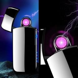 Briquet électrique à arc rotatif rechargeable par USB
