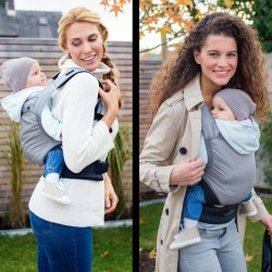 Porte-bébé ventral et dorsal Amazonas Smart Carrier Ultra-Light