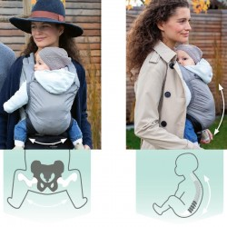Porte-bébé ergonomique Amazonas Smart Carrier Ultra-Light