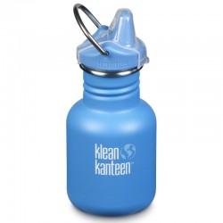 Gourde enfant Klean Kanteen Kid Classic Sippy bleue 0,35 litre