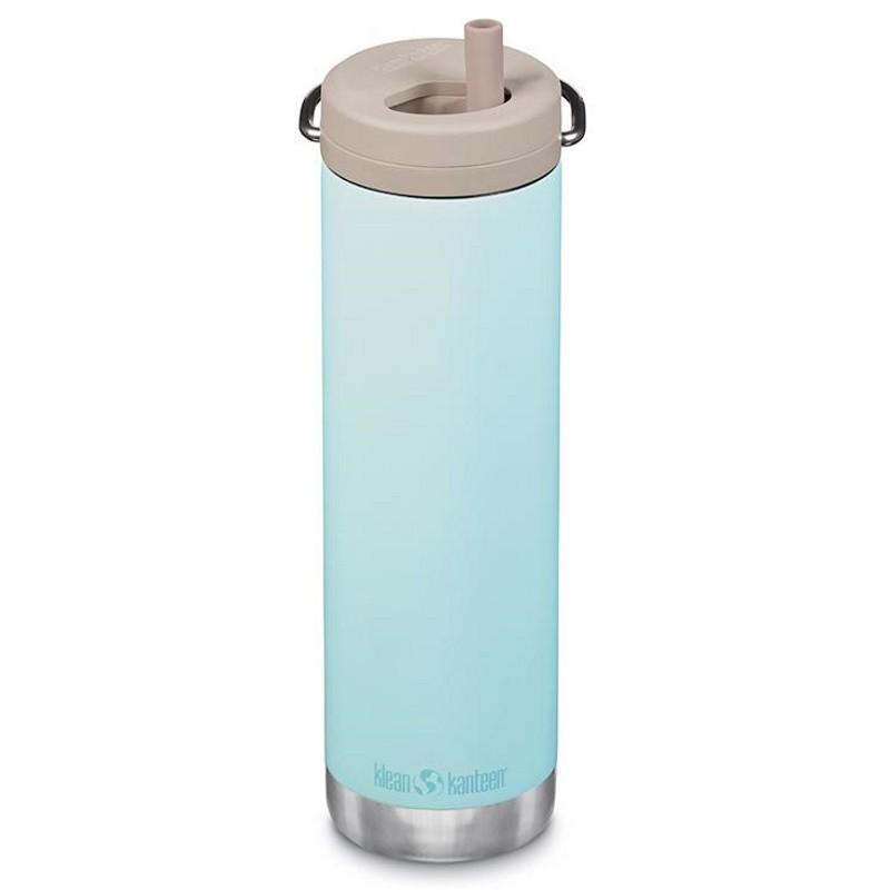 TKWide Klean Kanteen avec bouchon Twist 0,6 litre bleu ciel