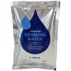Sachet d'eau potable d'urgence Survivor Drinking Water