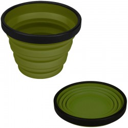 Tasse pliante Sea to Summit XCUP olive