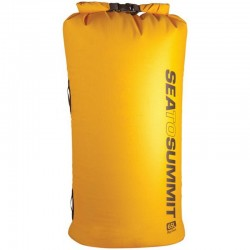 Sac étanche Sea to Summit Big River jaune 65 litres