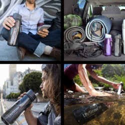 Lifestraw Go 2 Stages 650 ml noire