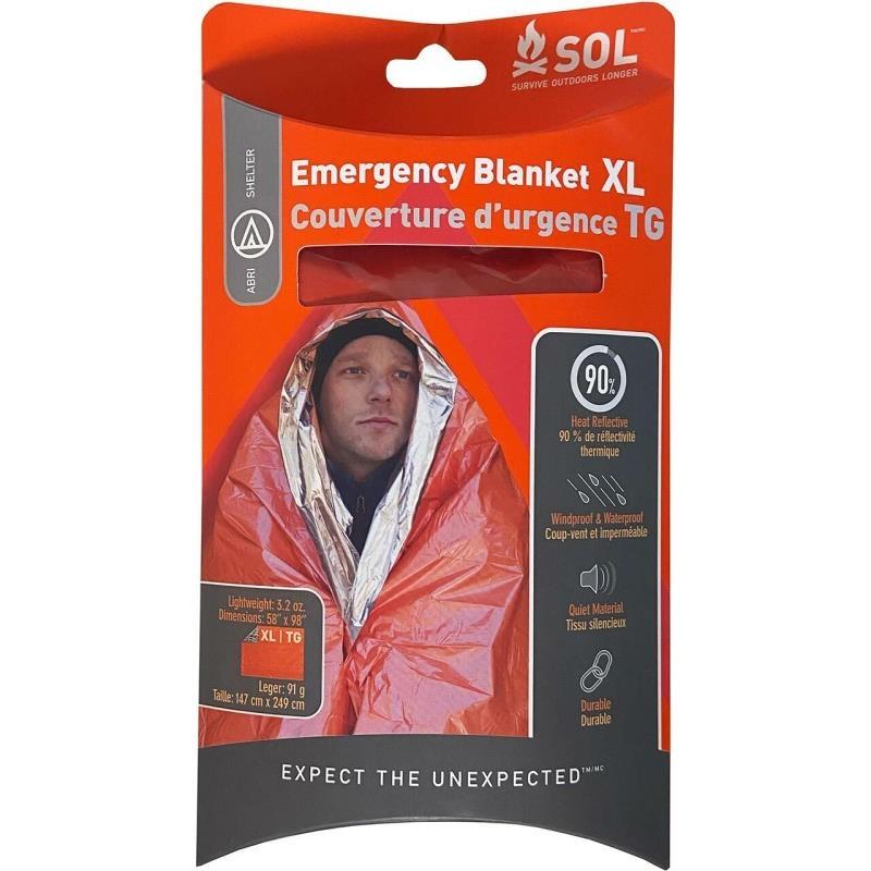 Couverture de survie SOL Emergency Blanket XL