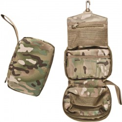 Trousse de toilette et kit de secours vide BCB camouflage