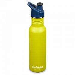 Gourde inox vert pomme Klean Kanteen Classic Sport 0,8 litre