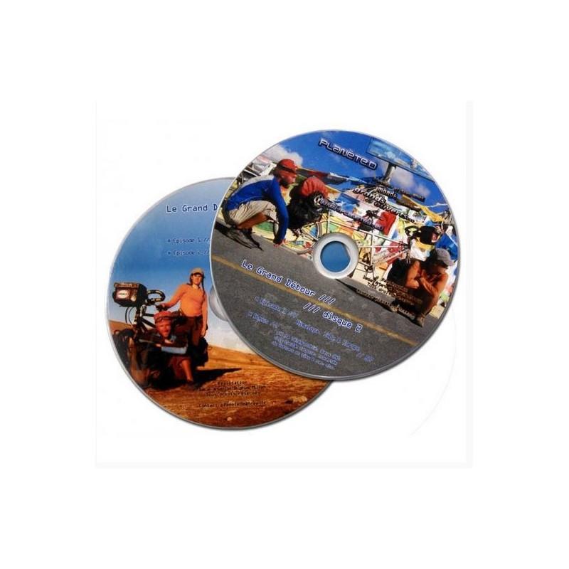 DVD Le Grand Détour : Autour du monde à tandem