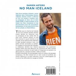 Livre No Man Iceland - Damien Artero