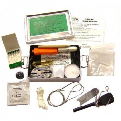 Kit de survie Ultimate explorer Bushcraft
