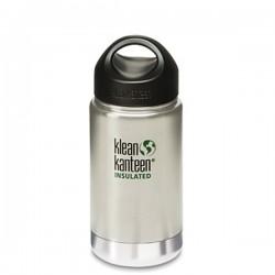 Bouteille isotherme 0.35L Klean Kanteen inox brossé