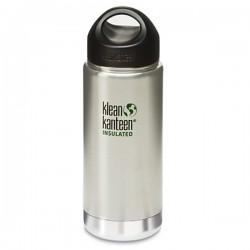 Bouteille isotherme 0.47L Klean Kanteen inox brossé
