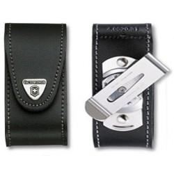 Etui cuir Victorinox 91mm de 15 à 23 P clip 4.0521.31
