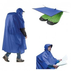 Poncho Tarp Sea to Summit bleu