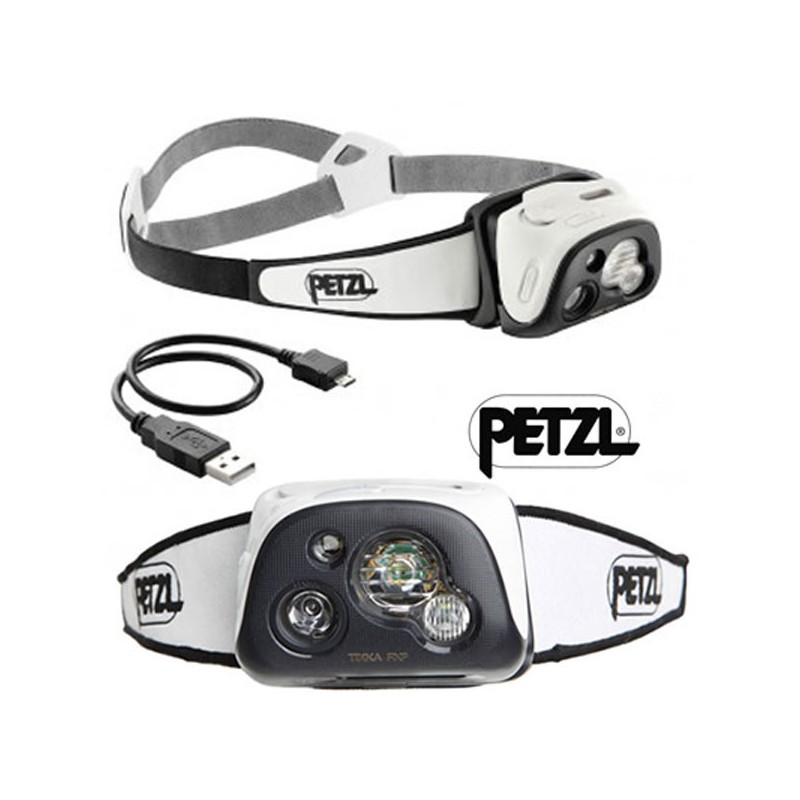lampe frontale petzl tikka rxp noire. Black Bedroom Furniture Sets. Home Design Ideas