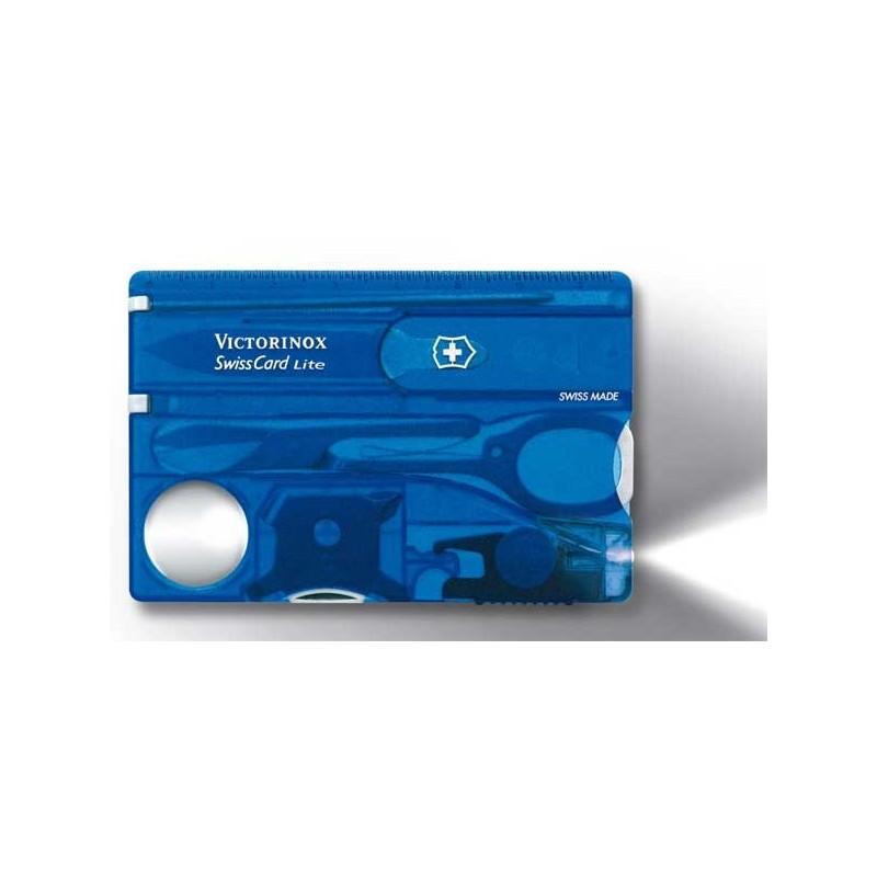 SwissCard Lite Victorinox bleu