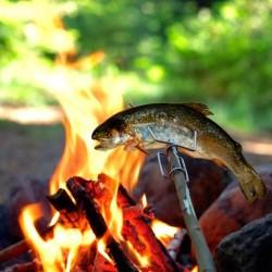 Broche Grandpa's FireFork Light My Fire noir